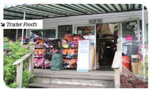 Trader Freds store, Edgartown on Marthas Vineyard