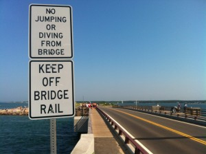 Jaws bridge, Martha's Vineyard