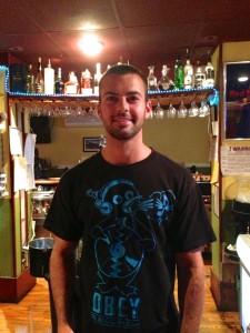 Island Bar and Grill Bartender, Jim Scherer