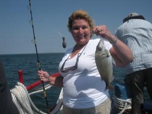 Fishing on the Skipper with Captain John Potter, Oak Bluffs on Marthas Vineyard