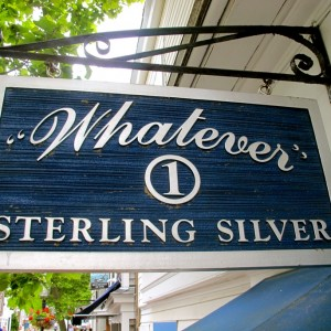 Whatever Sterling Silver, Edgartown