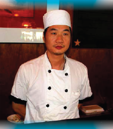 Chef Henry, Seafood Shanty Raw Bar, Edgartown