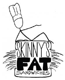 Skinny's Fat Sandwiches logo