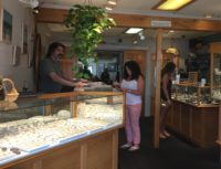 Most Beautiful Store on the Water: The Sun Shines Off the Water and On to Necklaces, Earrings, Bracelets, Rings and more at Dockside Jewelry